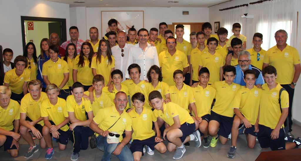 Los tres equipos de fútbol de l'Alfàs de Pi  que ganaron la liga serán distinguidos en la gala del fútbol que se celebrará en la Nucía este viernes