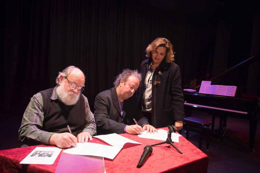 El Ayuntamiento de l'Alfàs renueva el convenio de colaboración con la Sociedad de Conciertos de Música Clásica