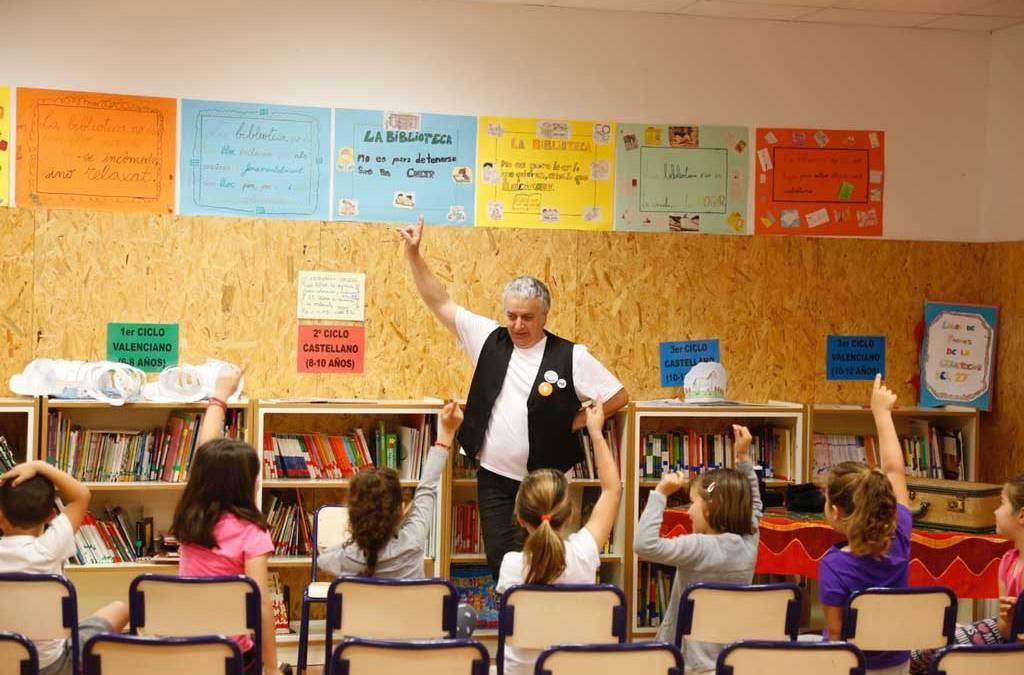 Mañana finaliza la Campaña de Animación Lectora con dos cuentancuentos en el barrio de La Ferrería