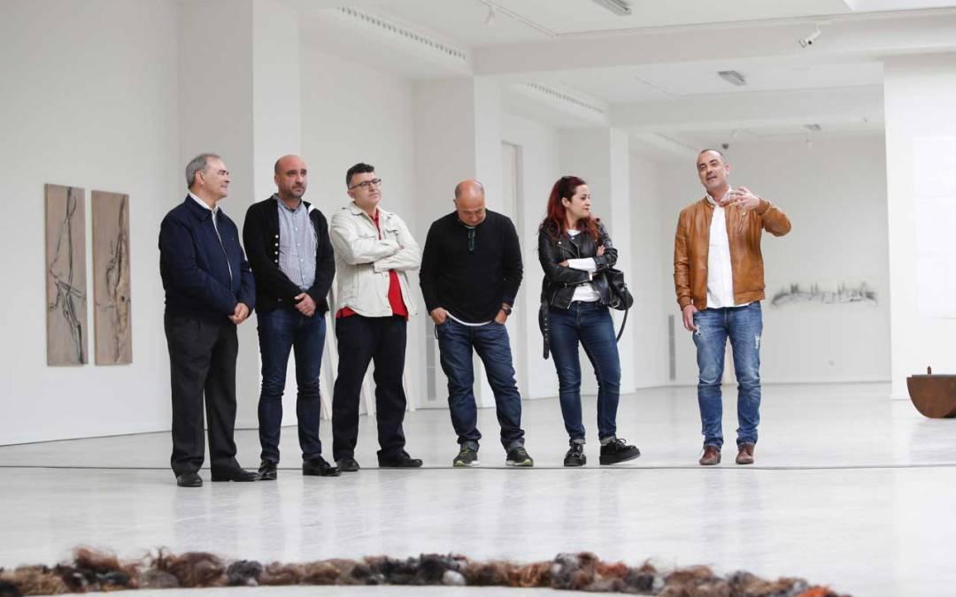 Alumnos y profesores de la Facultad de Bellas Artes de Altea exponen en la Fundación Frax