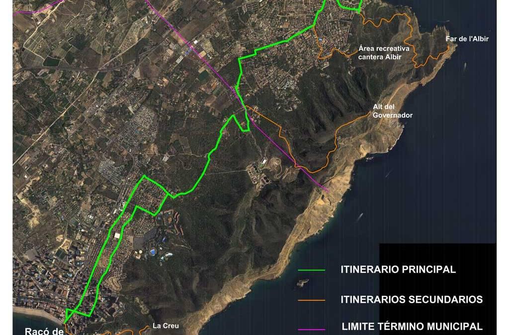 L'Alfàs del Pi y Benidorm quedarán conectados por un ciclosendero que discurrirá por las faldas de Serra Gelada
