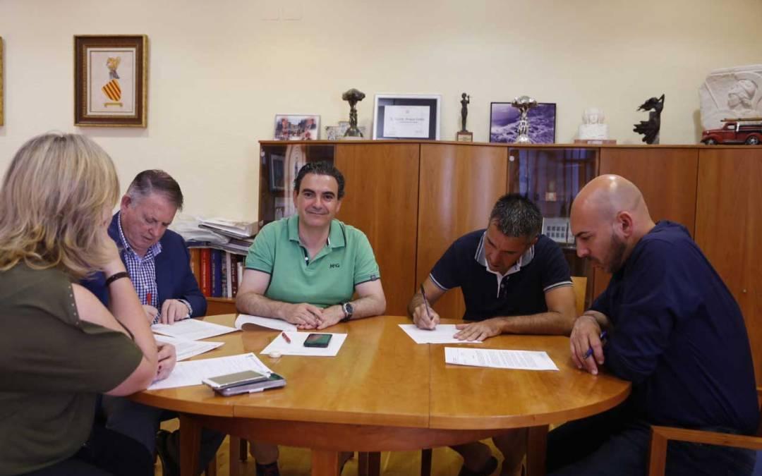 El ayuntamiento renueva su compromiso y apoyo al Club Ciclista l'Alfàs