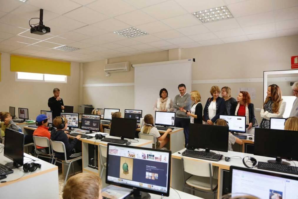 L'Alfàs del Pi y el Colegio Noruego Costa Blanca estrechan lazos