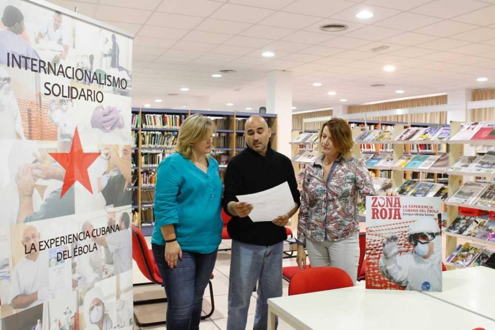 La Casa de Cultura de l'Alfàs del Pi acogerá la presentación de 'Zona roja, la experiencia cubana del ébola', de Enrique Ubieta