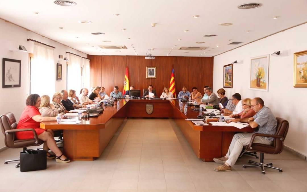 El Pleno de l'Alfàs aprueba los planes locales de quemas y contra incendios forestales