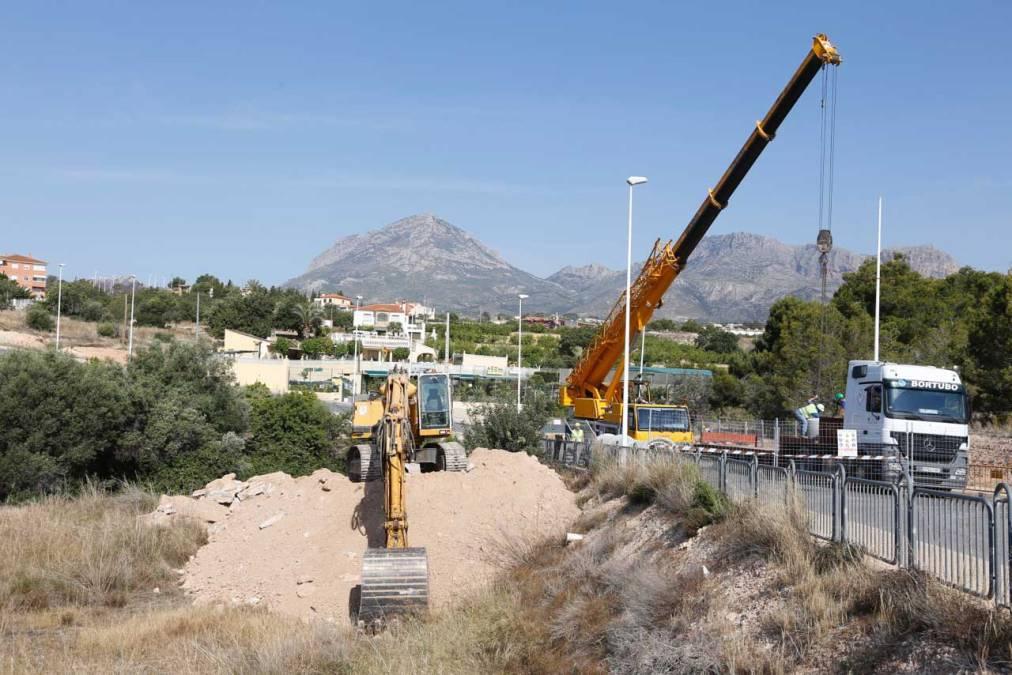 Las obras de la avenida del País Valencià se inician con la construcción del colector de pluviales