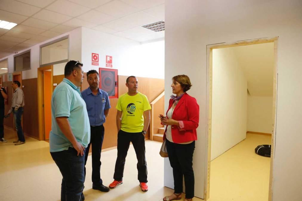 El Ayuntamiento de l'Alfàs del Pi dota con un nuevo almacén al CEIP Veles e Vents