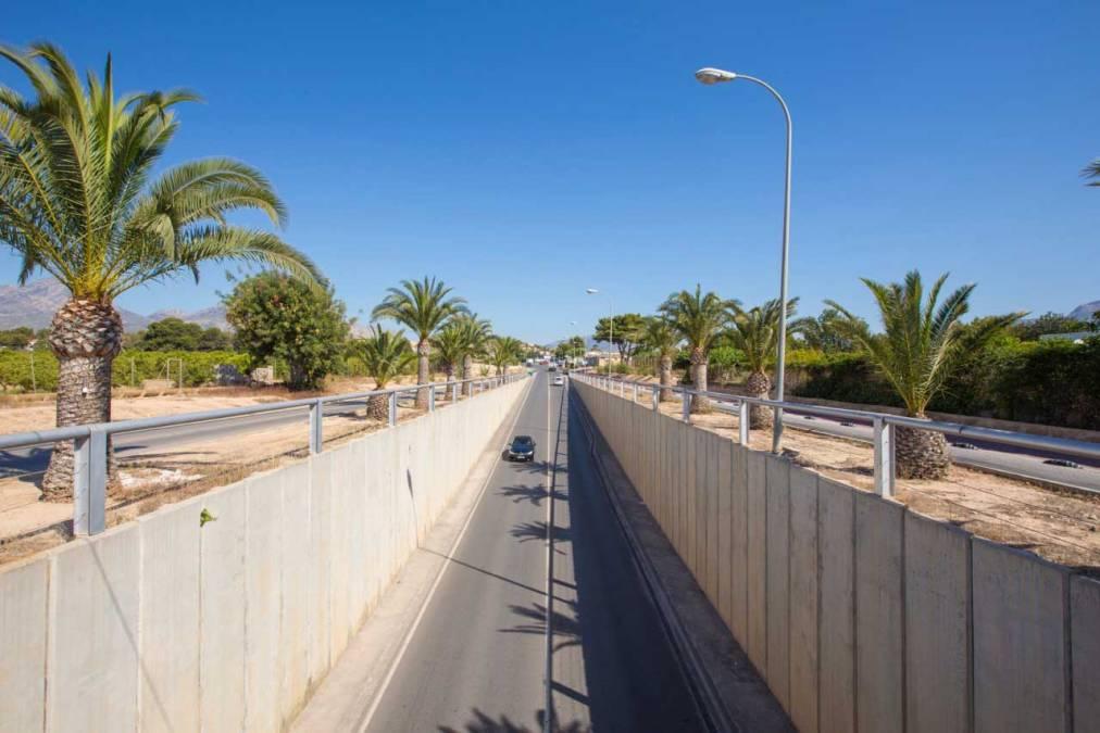 El Camí de La Mar quedará cerrado al tráfico a causa de las obras de reparación del puente