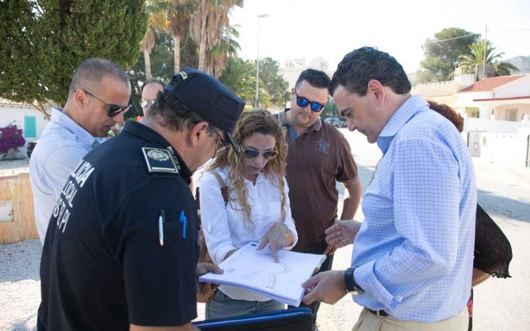El ayuntamiento de l'Alfàs del Pi ultima el proyecto de remodelación del Camí Vell del Far antes de su licitación