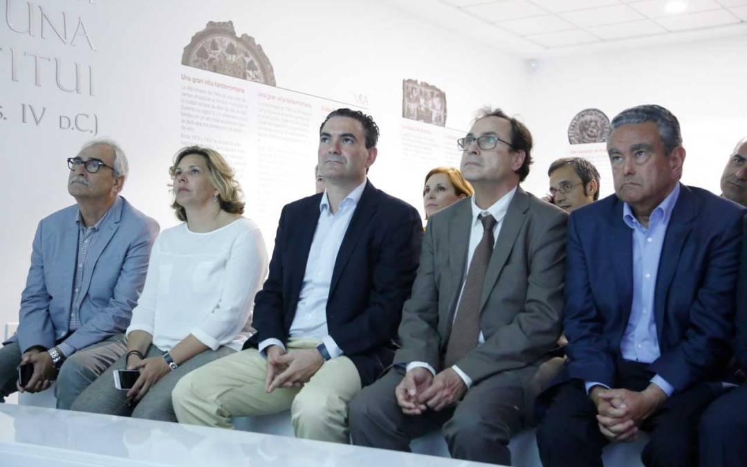 El Conseller de Hacienda, Vicent Soler, visita l'Alfàs del Pi para conocer el proyecto l'Alfàs Intelligence