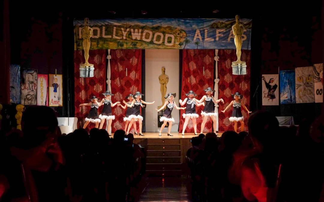 "El musical ""A night at the Oscars"" logró colgar el cartel de completo"