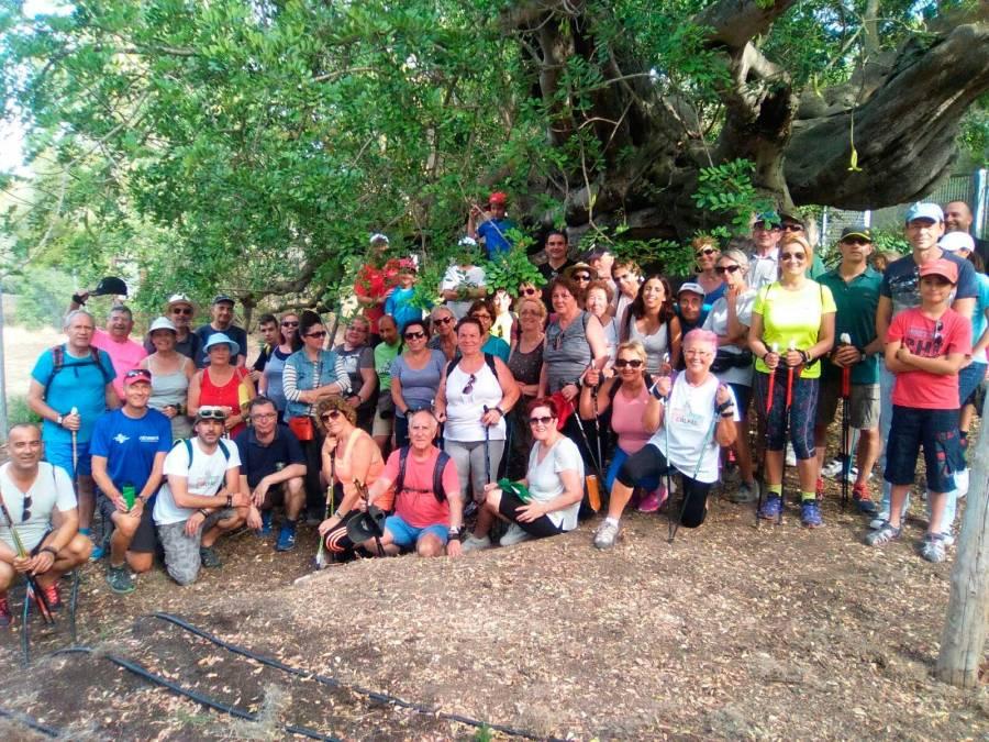 Éxito de participación en la cuarta caminata verde organizada por la concejalía de Deportes de l'Alfàs