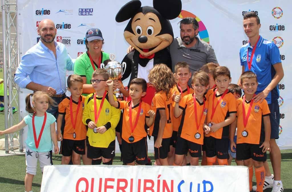 El Sedaví CF ha sido el ganador de la VII Querubín Cup celebrada este fin de semana en l'Alfàs del Pi.