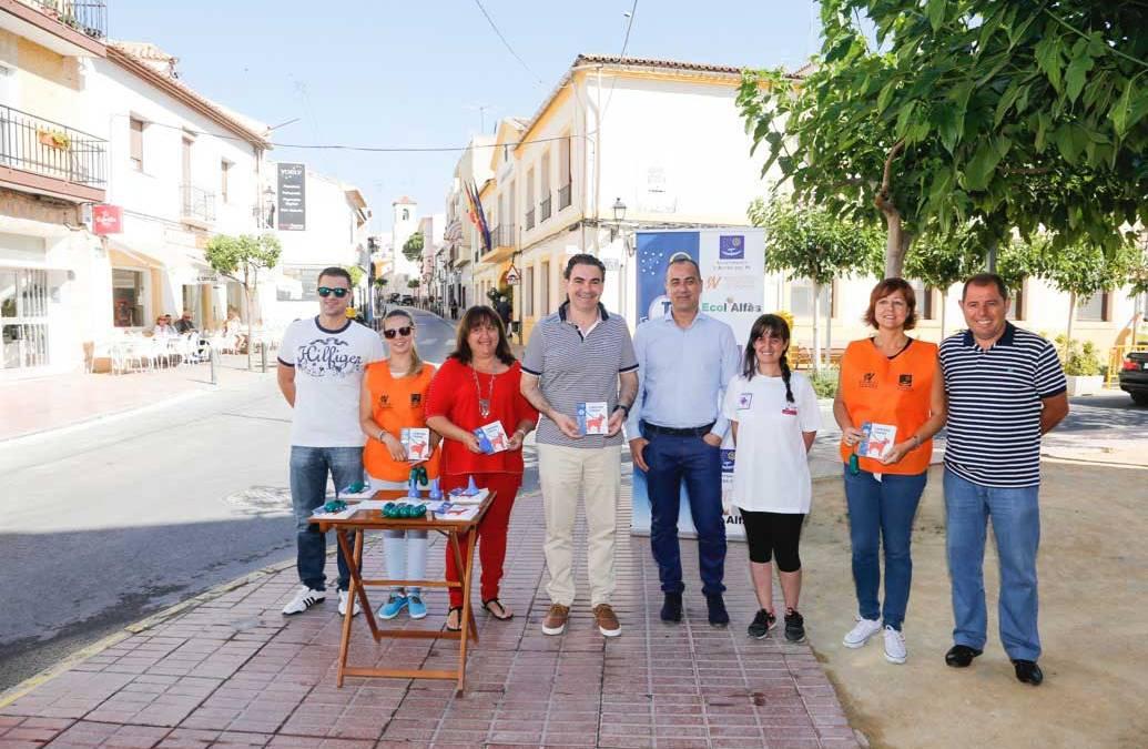 El Ayuntamiento de l'Alfàs y SAV lanzan una campaña de concienciación sobre tenencia de mascotas y recogida selectiva