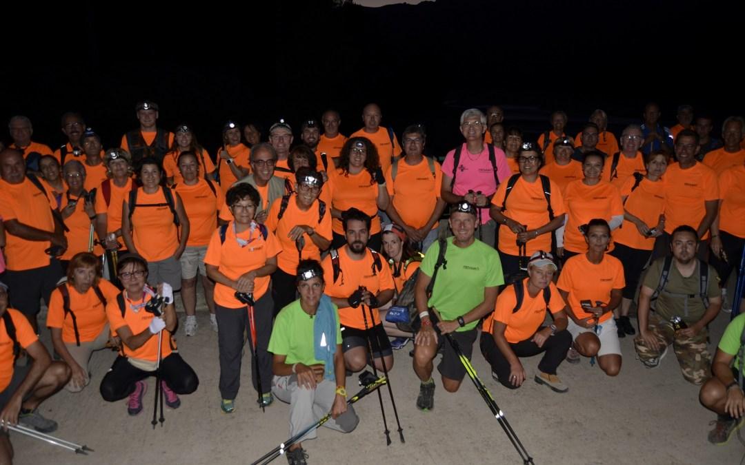 200 personas han participado en la 9ª Caminata Nocturna