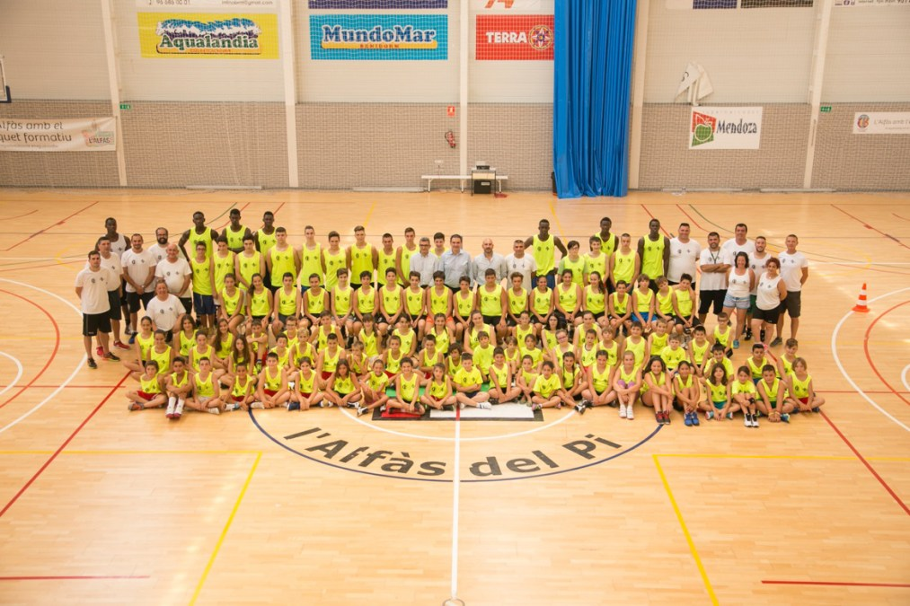 El Campus de Básket de l'Alfàs del Pi estrena su 23ª edición