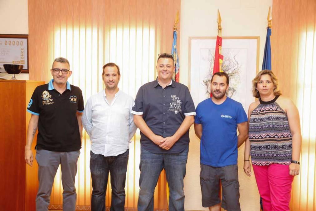El ayuntamiento de l'Alfàs del Pi y la Asociación de Penyas rubrican su acuerdo de colaboración