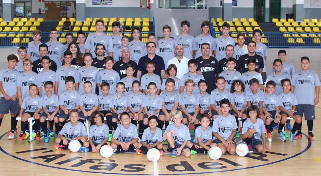 Concluye el IV Campus de Fútbol Sala de l'Alfàs del Pi