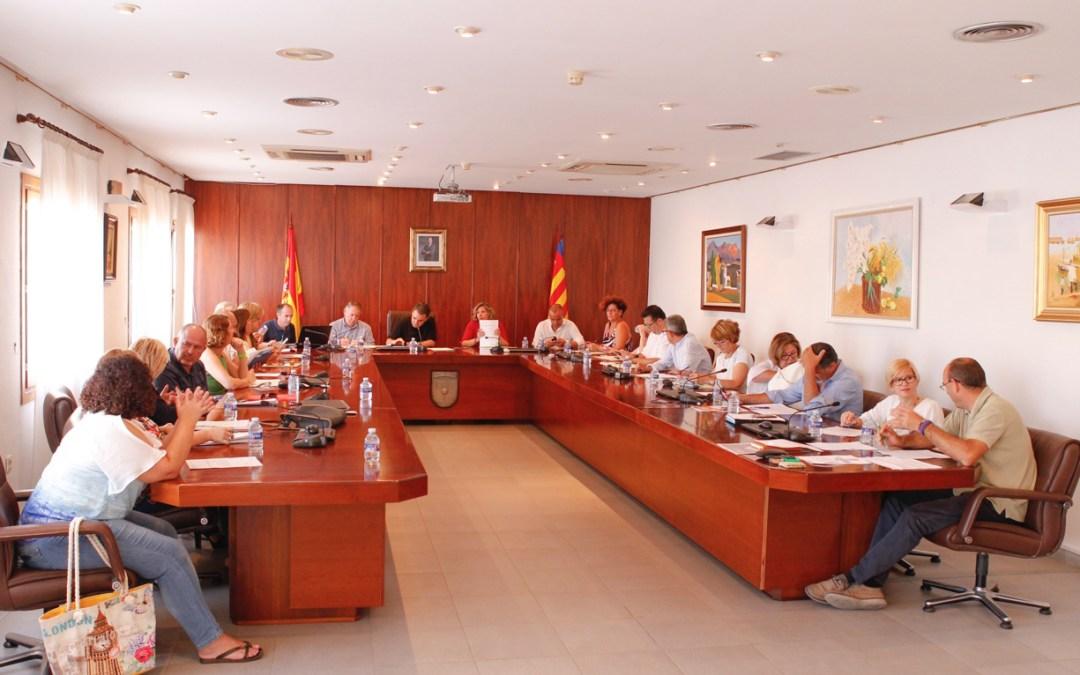 El Pleno de l'Alfàs del Pi aprueba el pago de facturas pendientes de 2015 por un valor de 334.000 euros