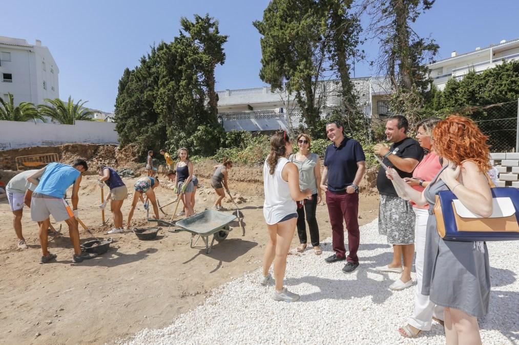 La Villa Romana de l'Albir sigue desvelando sus secretos gracias a la novena edición de su 'Campo Internacional de Trabajo'