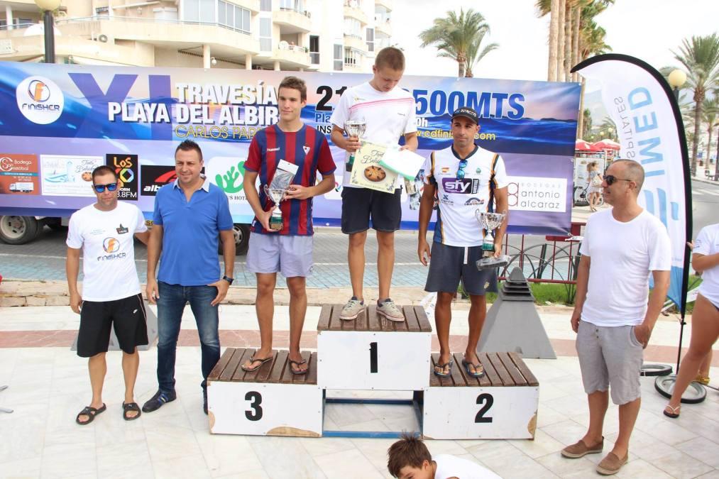 Bou  y Mendía ganadores de la XI Travesía de l'Albir