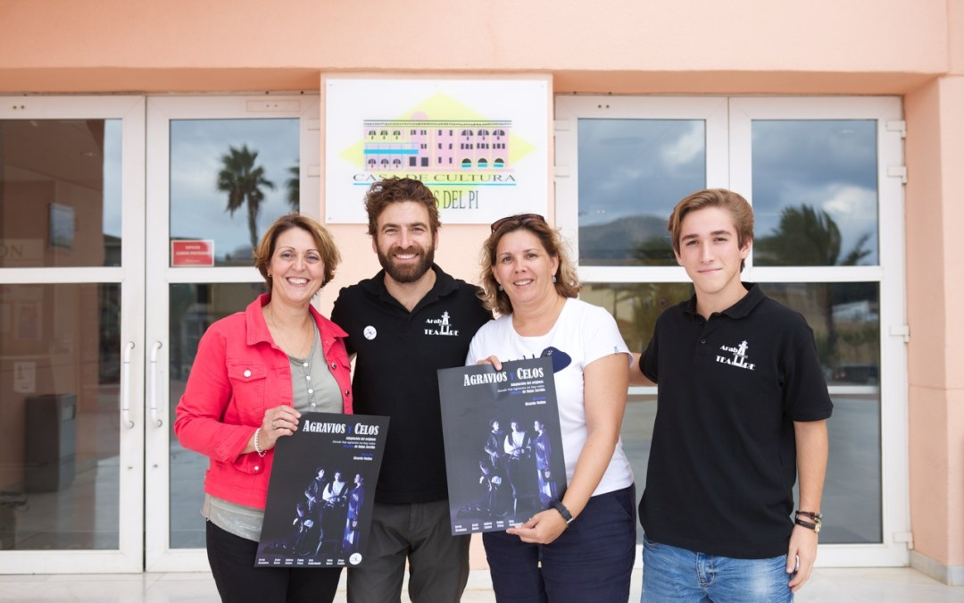 La compañía alfasina Arabí Teatre, invitada al Teatro Municipal de Almagro para representar 'Agravios y celos'