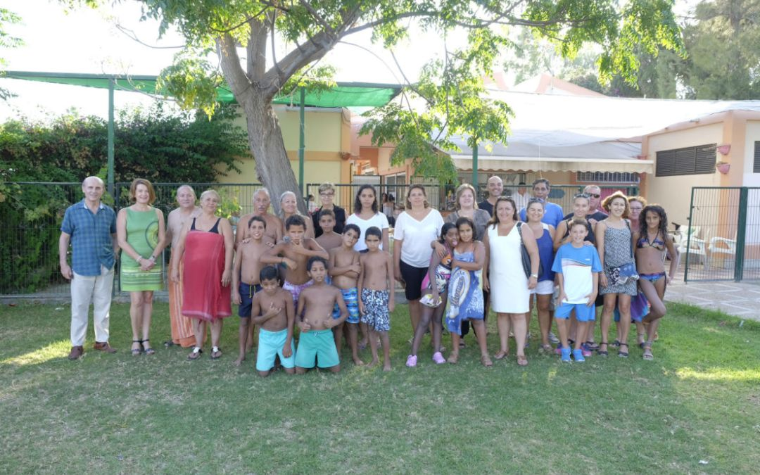 L'Alfàs celebró una fiesta de despedida para los niños saharauis del programa 'Vacaciones en Paz'