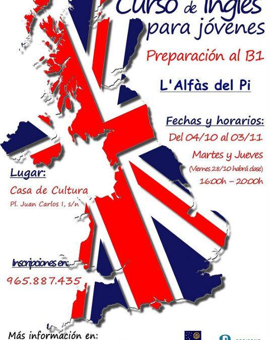 Curso gratuito de preparación al examen de inglés B1