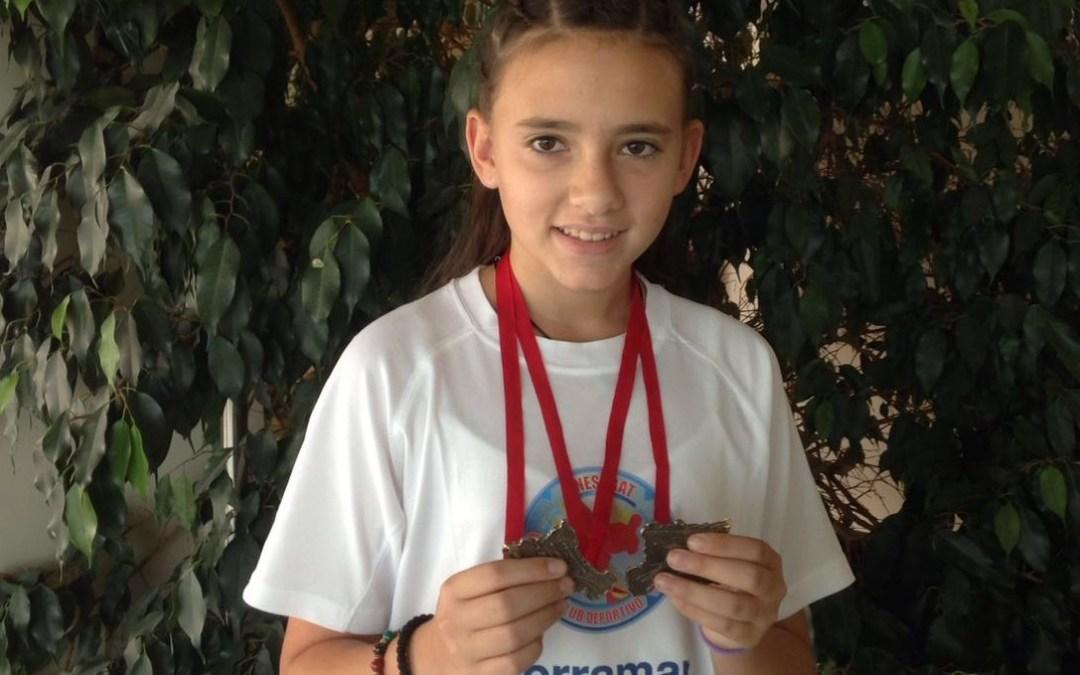 María Vidal consigue dos bronces en el open de Navarra puntuable para el campeonato del mundo .