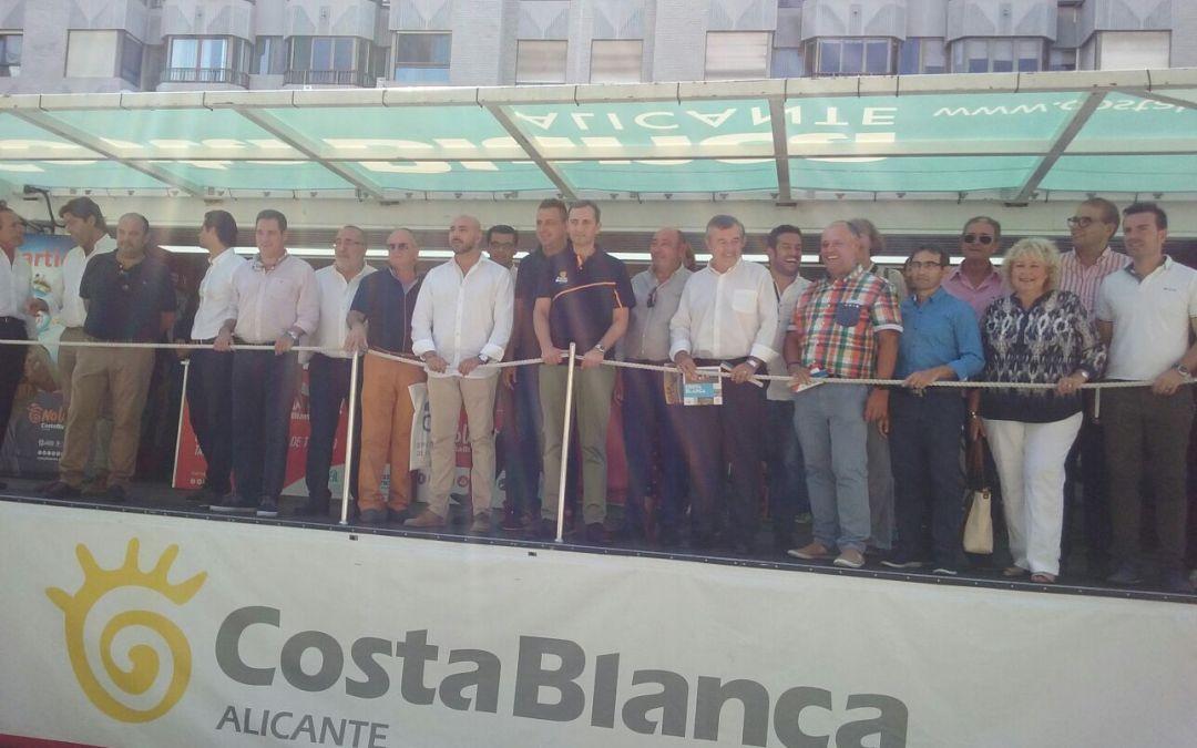 L'Alfàs del Pi estuvo en la presentación de las etapas que decidirán la presente edición de La Vuelta