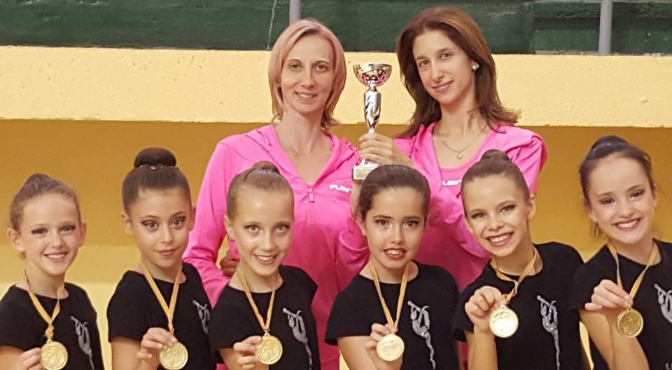 El conjunto alevín de Gimnasia Rítmica de l'Alfàs del Pi se proclama  campeón de la Comunidad Valenciana y se clasifica para el Campeonato España de Conjuntos Absoluto.