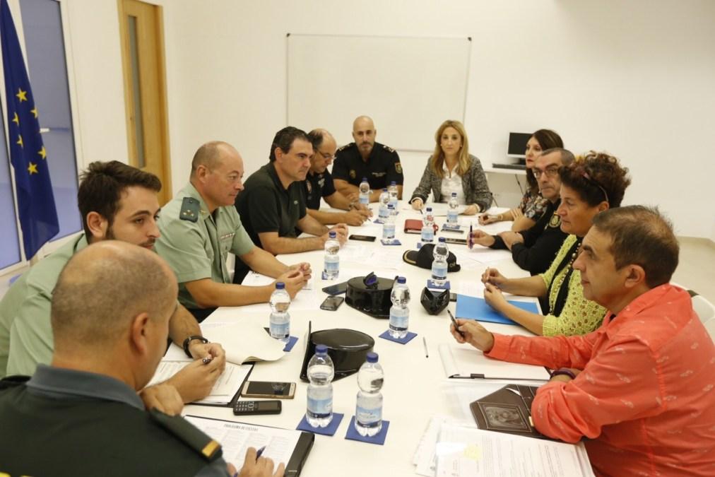 La Junta Local de Seguridad Ciudadana constata una reducción del ocho por ciento en el número de delitos
