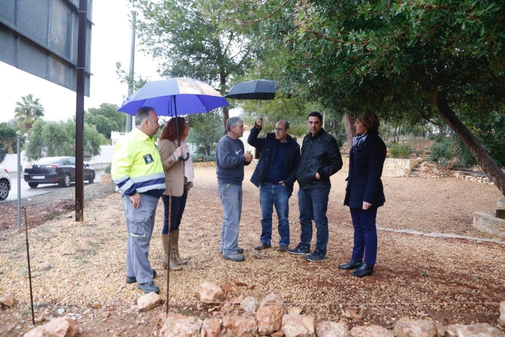 Los alumnos del módulo de jardinería realizarán parte de su formación académica en el CIPM Los Carrascos