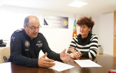 La Policía Local de l'Alfàs del Pi entrega a la Audiencia Nacional a un fugitivo de la justicia belga con orden de arresto internacional