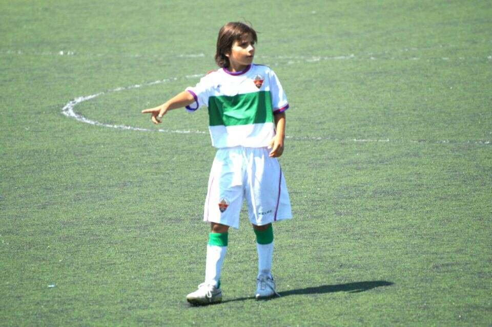 Un alfasino covocado por de la selección sub 12 de fútbol de la Comunidad Valenciana