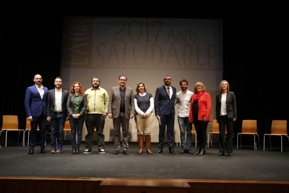 Más de 200 personas asisten en l'Alfàs a la presentación del proyecto 'Any Saludable'