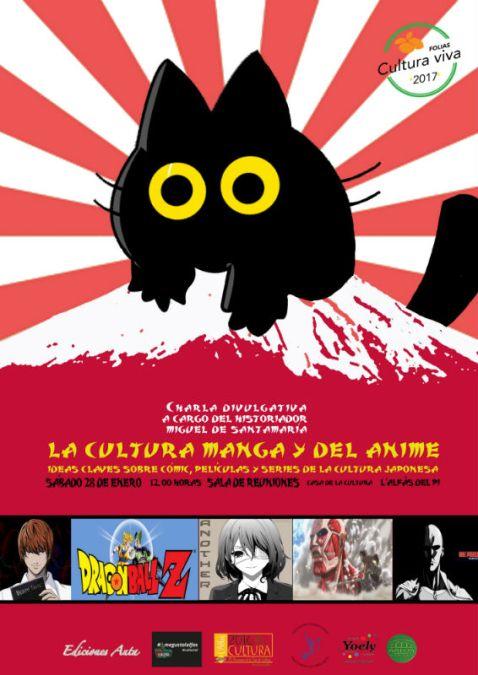 Charla divulgativa sobre el manga en la casa de cultura de l'Alfas del Pi
