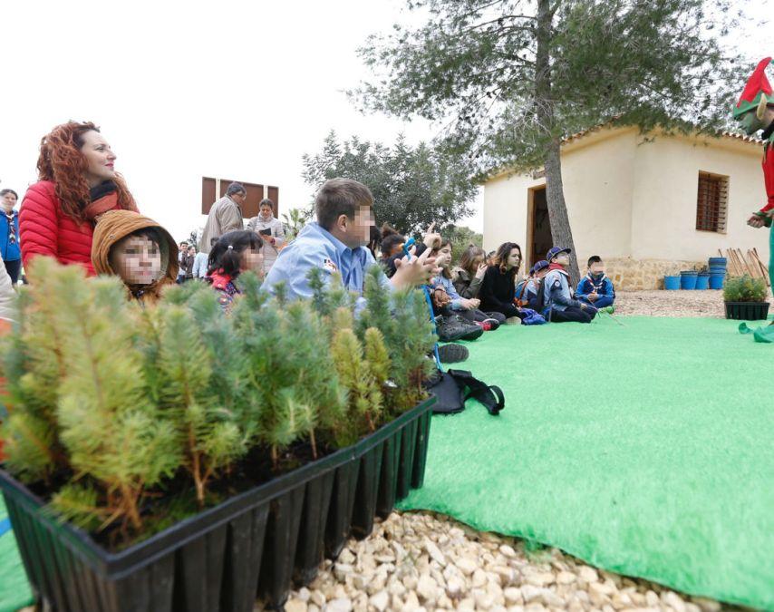 El Centro de Interpretación Los Carrascos protagonista en el Día del Árbol