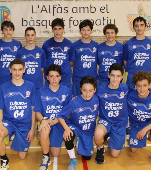 El CB Terralfas  y Stirling  ganan su primeros partidos en el torneo de categoría infantil que se celebra en el pabellón Pau Gasol.