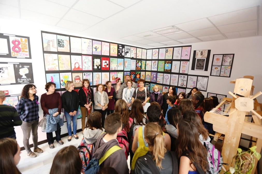 Sofía Katsini gana el concurso de carteles organizado por Igualdad para la Semana de la Mujer