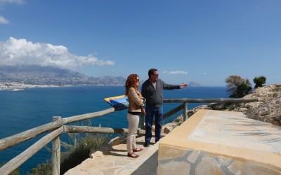El Ayuntamiento de l'Alfàs y el Parc Natural de Serra Gelada mejoran el entorno de la ruta al Faro de l'Albir