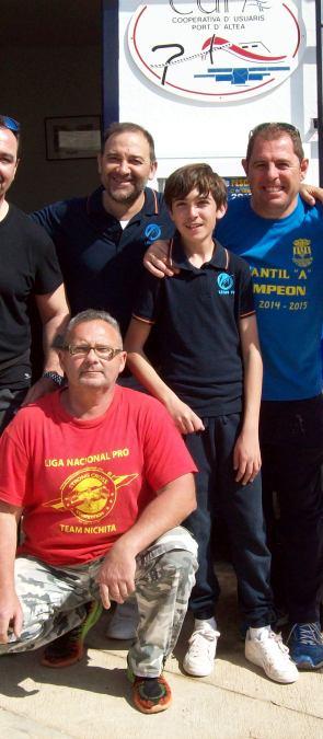 "Dos embarcaciones de L'Alfàs del Pi triunfan en el campeonato de pesca de ""chambel"" de Altea"