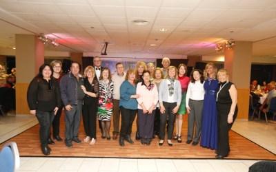 El club británico Companians recauda cerca de 3.000 euros con su gala benéfica
