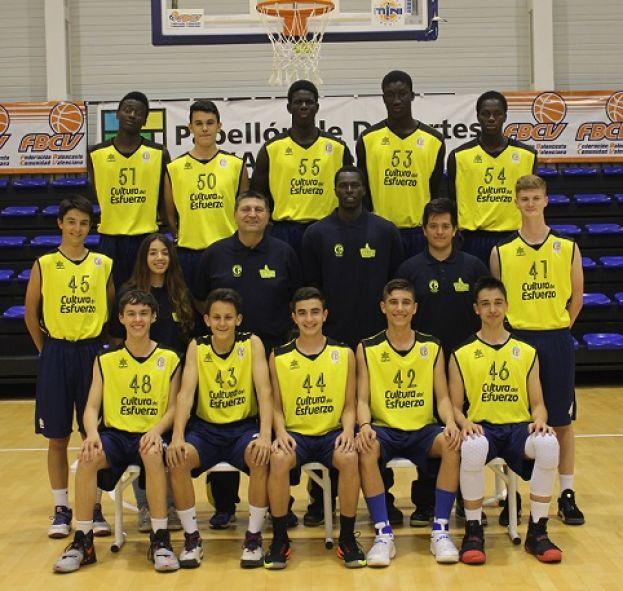 El equipo  cadete  TerrAlfàs juega desde hoy la final four en Alicante