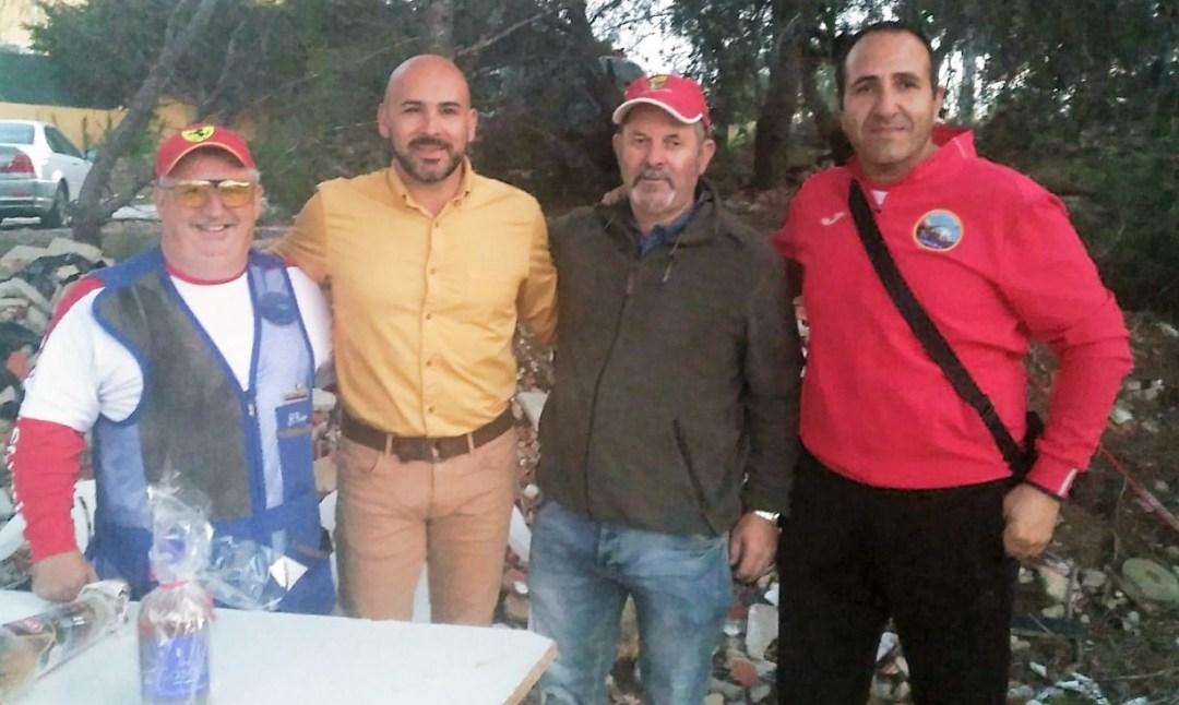Éxito de participación en el concurso de tiro organizado por el Club de tiro al plato de l'Alfàs del Pi.