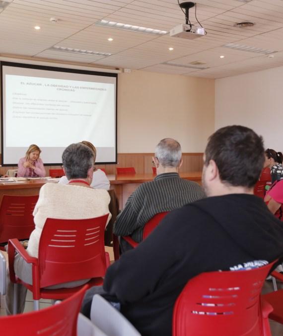 Sanidad continúa con sus actividades en torno al Día Internacional de la Salud con una charla sobre el azúcar y la obesidad