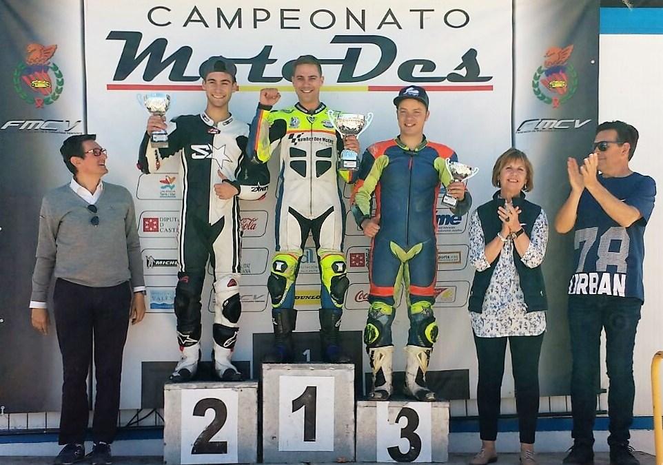 Jorge Berenguer primero en la segunda carrera de la temporada en Albaida.