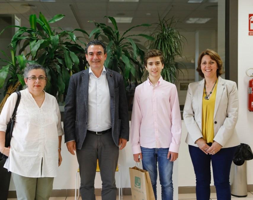 Jonás Miralles representará a l'Alfàs del Pi en la fase provincial de las olimpiadas matemáticas