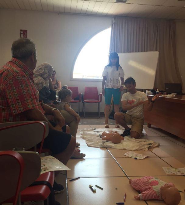 curso primeros auxilios Agencia AMICS l'Alfàs del Pi