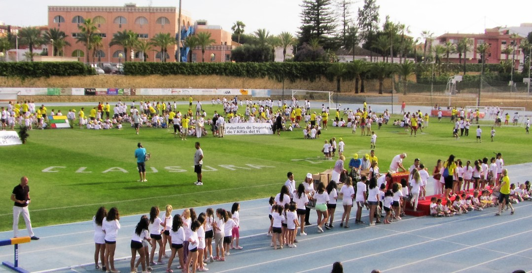 Este  viernes la Concejalía de Deportes clausura las Escuelas Municipales Deportivas 2017.